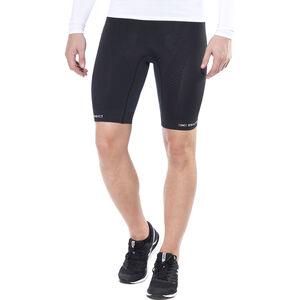 X-Bionic Trail Running Effektor Pants Short Herr charcoal/black charcoal/black