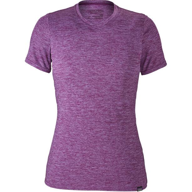 Patagonia Capilene Daily T-shirt Dam light acai-ikat purple x-dye