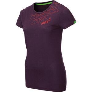 inov-8 TriBlend SS Shirt Dam purple angle purple angle
