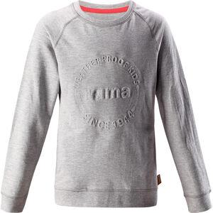 Reima Lingon Pullover Girls Melange Grey Melange Grey