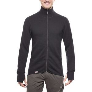 Woolpower 600 Full Zip Thermo Jacket black black
