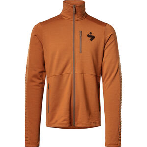 Sweet Protection Crusader Fleece Jacket Herr deep ocher deep ocher