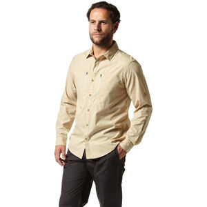 Craghoppers NosiLife Boulder Long Sleeved Shirt Herr oatmeal oatmeal
