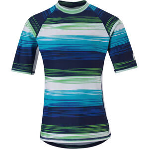 Reima Fiji Swim Shirts Barn navy blue navy blue
