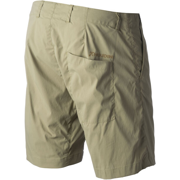 Houdini Liquid Rock Shorts Dam pampa green