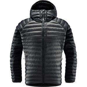 Haglöfs Essens Mimic Hooded Jacket Herr True Black/Magnetite True Black/Magnetite