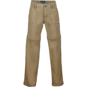 Marmot Lobo Convertible Pants Flickor desert khaki desert khaki