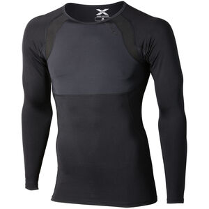 2XU Recovery Compression LS Top Herr black/nero logo black/nero logo