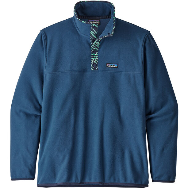 Patagonia Micro D Snap-T Pullover Herr stone blue