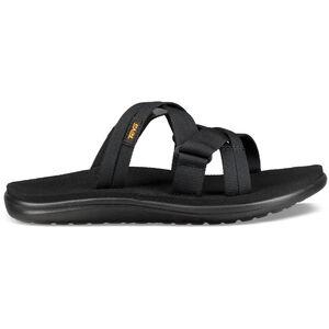 Teva Voya Slide Sandals Dam black black