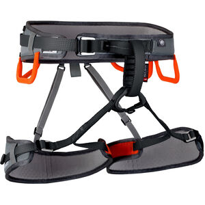 Mammut Ophir 3 Slide Harness Herr titanium/dark orange titanium/dark orange