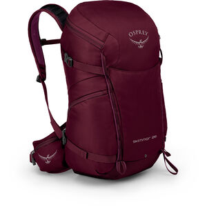 Osprey Skimmer 28 Backpack Dam plum red plum red