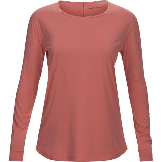 Peak Performance Epic LS Shirt Dam digital pink