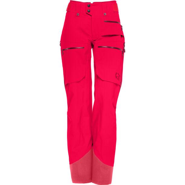 Norrøna Lofoten Gore-Tex Pro Pants Dam crisp ruby