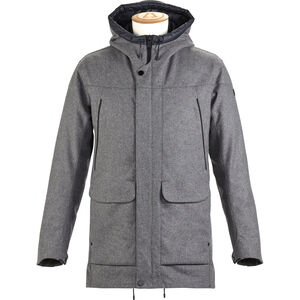 Alchemy Equipment Insulated Tech Wool Coat Herr Grey Grey