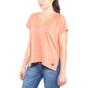 super.natural Jonser T-shirt Dam georgia peach melange georgia peach melange