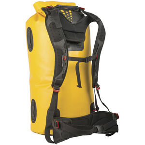 Sea to Summit Hydraulic Dry Pack 65l with Harness yellow yellow