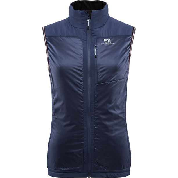 Elevenate Bdr Insulation Vest Dam twilight blue