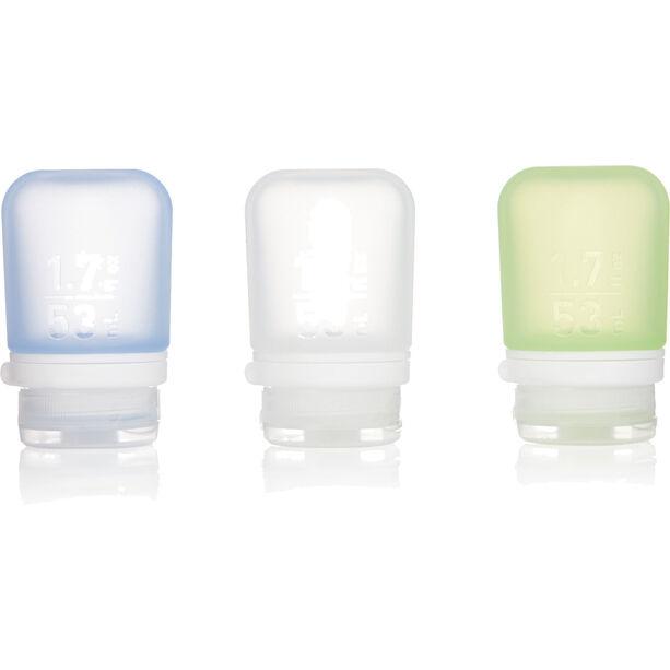 humangear GoToob+ 3-Pack Small 53ml clear/green/blue