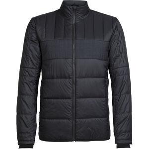 Icebreaker Stratus X Jacket Herr black/jet heather black/jet heather