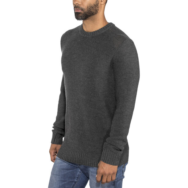 Icebreaker Waypoint Crewe Sweater Herr char heather
