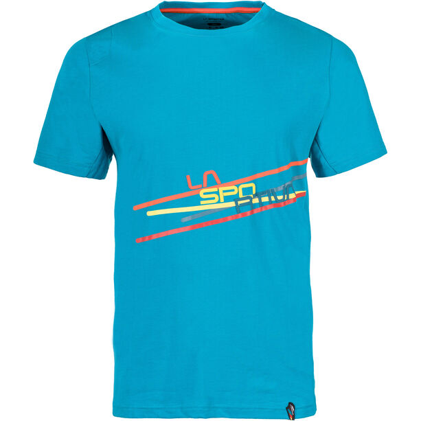 La Sportiva Stripe 2.0 T-shirt Herr tropic blue