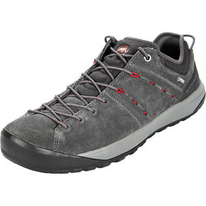 Mammut Hueco Low GTX Shoes Herr graphite-magma graphite-magma