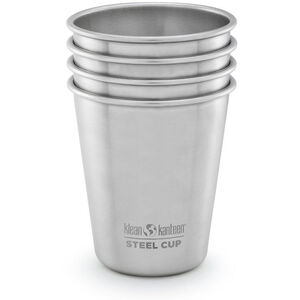Klean Kanteen Pint Cup 10oz 4-pack (295 ml) brushed stainless brushed stainless