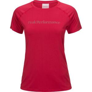Peak Performance Gallos Co2 SS Shirt Dam true pink true pink