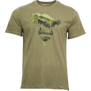 United By Blue Walk In The Woods SS Graphic Tee Herr olive olive