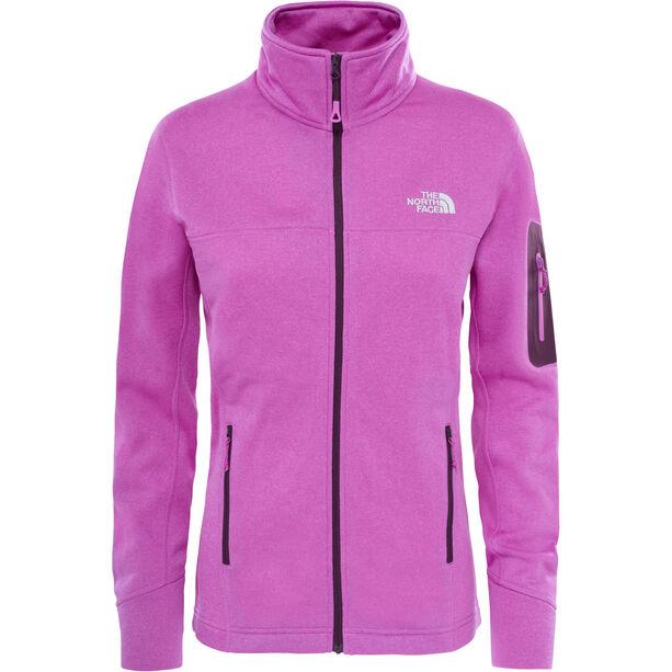 The North Face Kyoshi Full Zip Fleece Jacket Dam sweet violet heather