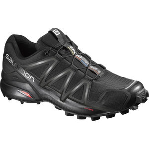 Salomon Speedcross 4 Shoes Herr black/black/black metallic black/black/black metallic