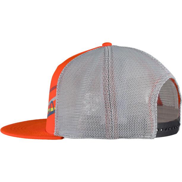 La Sportiva Stripe 2.0 Trucker Hat pumpkin/cloud