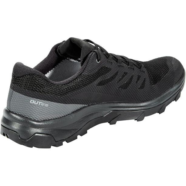 Salomon OUTline GTX Shoes Herr black/phantom/magnet