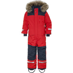 Didriksons 1913 Björnen Coverall Barn Chili Red Chili Red
