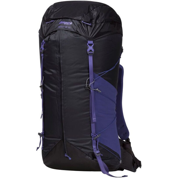 Bergans Helium 55 Backpack Dam solid charcoal/funky purple
