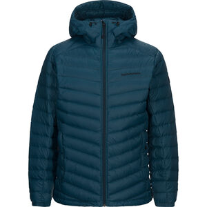 Peak Performance Frost Down Hooded Jacket Herr teal extreme teal extreme