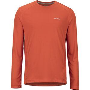 Marmot Windridge LS Shirt Herr orange haze orange haze