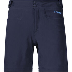 Bergans Cecilie Climbing Shorts Dam navy melange/cloud blue navy melange/cloud blue