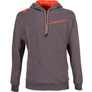 La Sportiva Magic Wood Hoody Herr carbon/tangerine carbon/tangerine