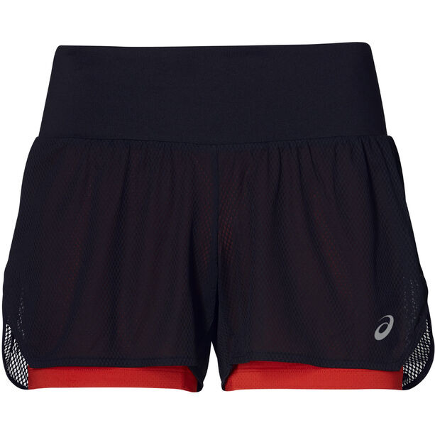 asics Cool 2-In-1 Shorts Women mp performance black mp performance black