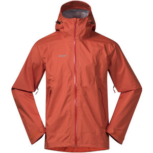 Bergans Letto Jacket Herr lava/br magma lava/br magma