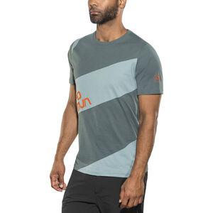 La Sportiva Slab T-shirt Herr slate/stone blue slate/stone blue
