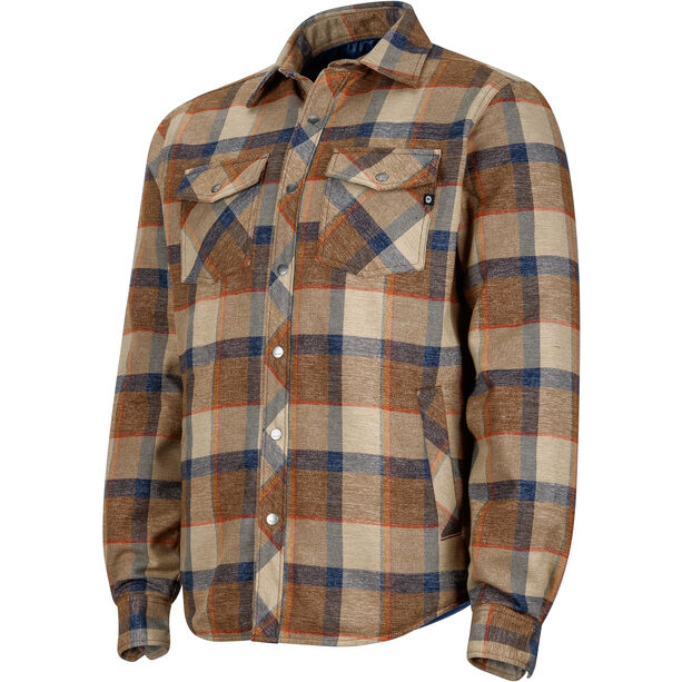 Marmot Arches Insulated LS Shirt Herr coffee