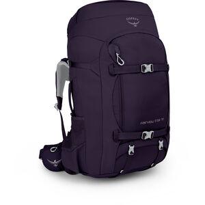 Osprey Fairview Trek 70 Backpack Dam amulet purple amulet purple