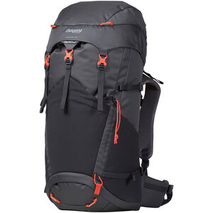 Bergans Birkebeiner 40 Backpack Barn Solid Dark Grey/Solid Charcoal/Koi Orange Solid Dark Grey/Solid Charcoal/Koi Orange