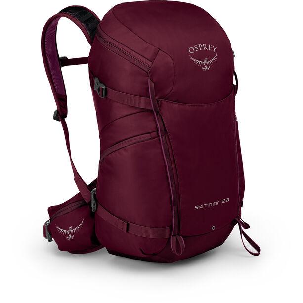 Osprey Skimmer 28 Backpack Dam plum red