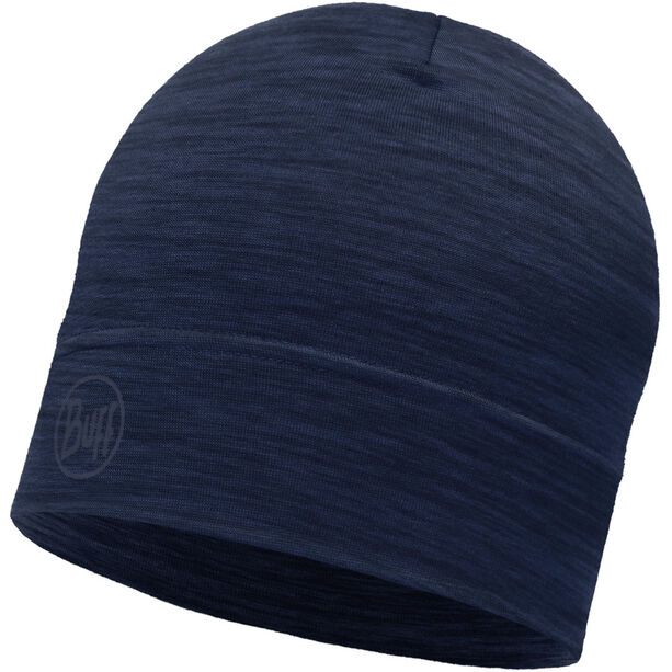 Buff Lightweight Merino Wool Hat solid denim
