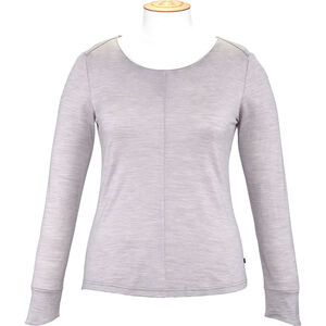 Alchemy Equipment Merino Essential LS Tee Dam light amethyst marle light amethyst marle