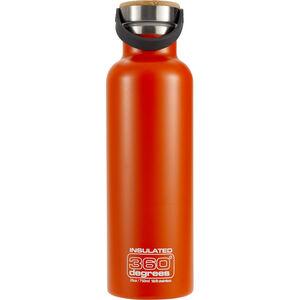 360° degrees Vacuum Insulated Drink Bottle 750ml orange orange